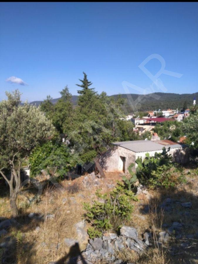 Milas Kazıklı Köyünde Koy Manzaralı Satılık Arsa