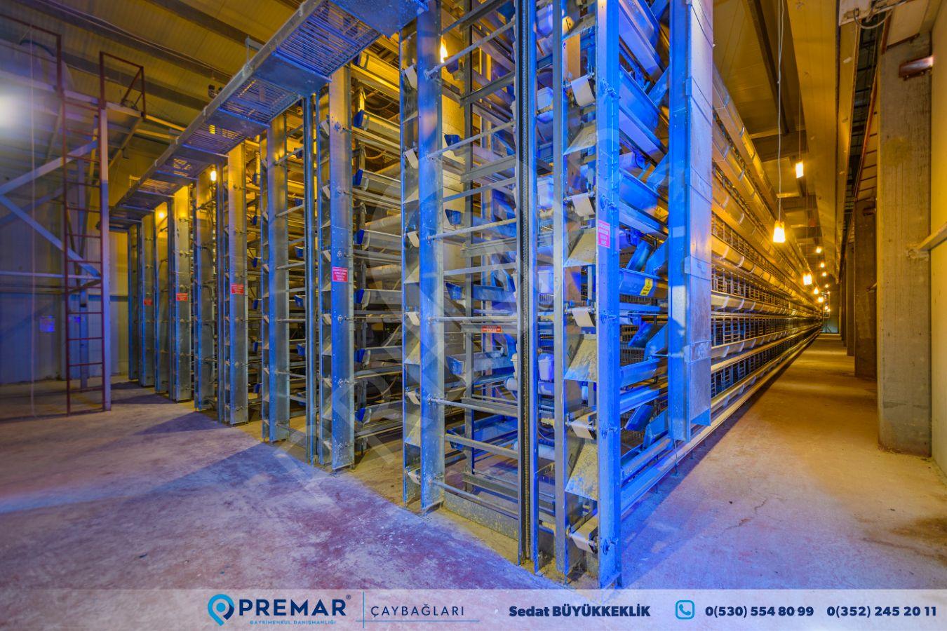 Premar'dan Satılık Son Teknoloji Yumurta Üretim Çiftliği