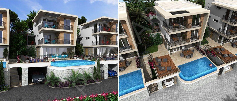 Kapanmaz Deniz Manzaralı Özel Havuzlu Villa
