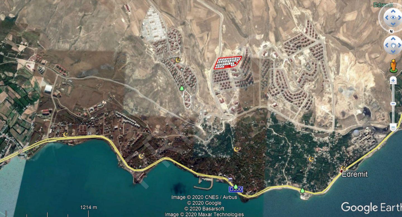 Van Edremit'de 6 Kat İmarlı, Göl Manzaralı Satılık Arsa
