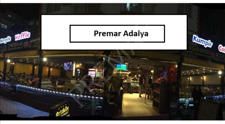 Antalyanın En İşlek Caddesi Yüksek Cirolu Devren Kiralık Cafe