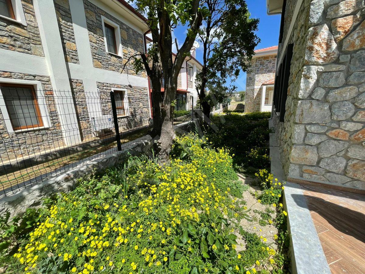Premar Datça Reşadiye'de 2+1 Bahçeli İkiz Müstakil