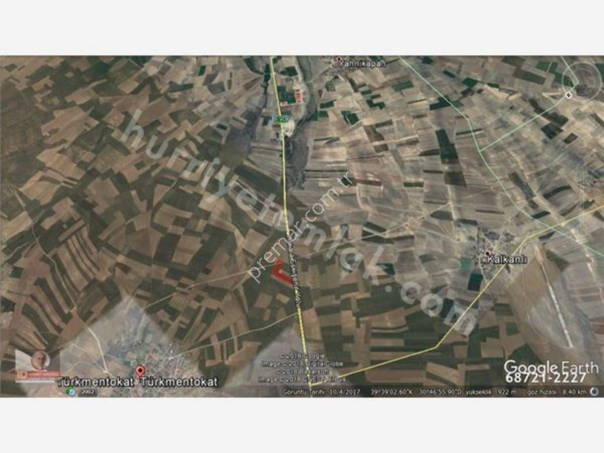 Eskişehir Odunpazarı Türkmentokat Mahallesinde Satılık Tarla