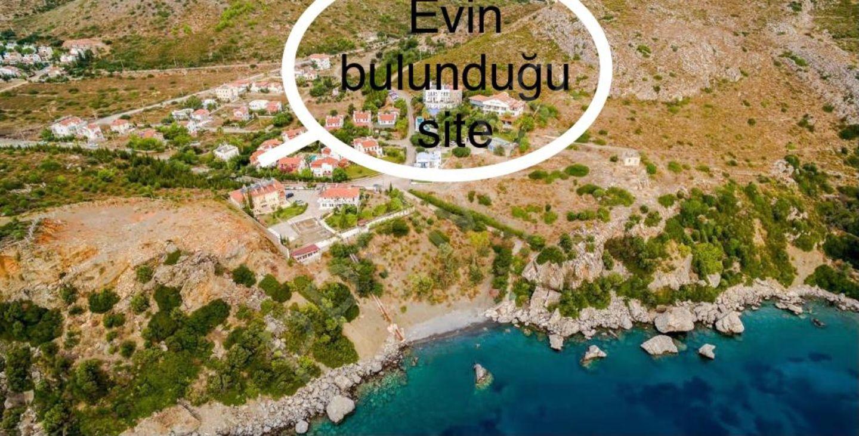 Premar Datça Havuzlu Nezih Site İçinde Denize 100m 2+1 Dubleks