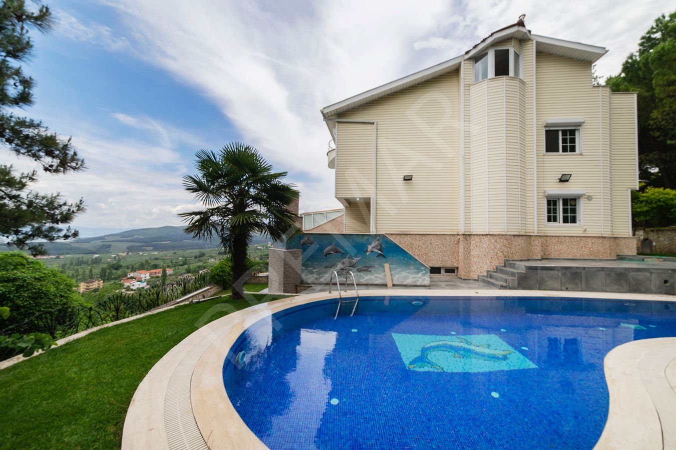 Bursa Göynüklü Full Deniz Manzaralı Villa
