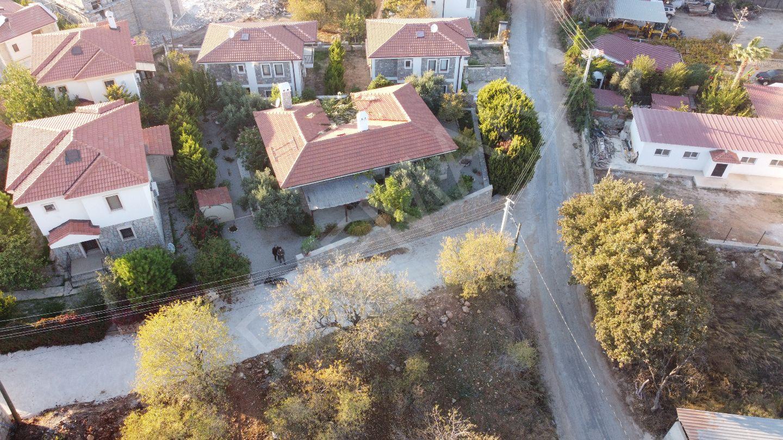 Premar Datça Eski Datça'da Tek Katlı Müstakil Taş Muhteşem Villa