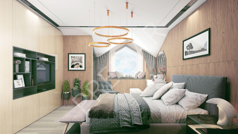Denizden 5 Dk Mesafade Manzaralı 2+1 Luks Residense Duplex/alanya Merkez/ Bina Teslim Kasım 2020