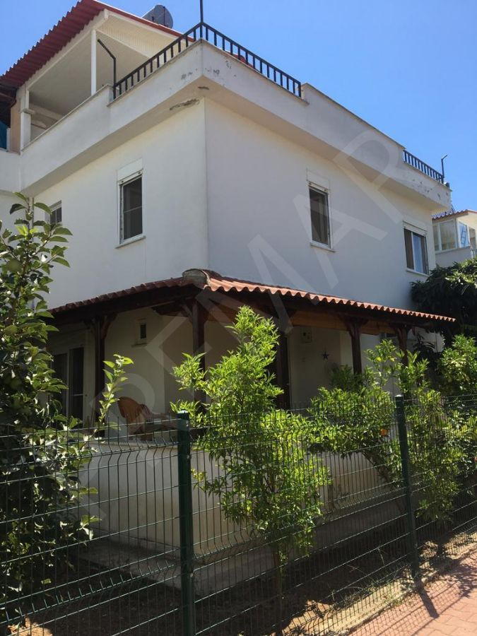 Antalya Serik Boğazkent De Bahçeli Dublex Teraslı Villa