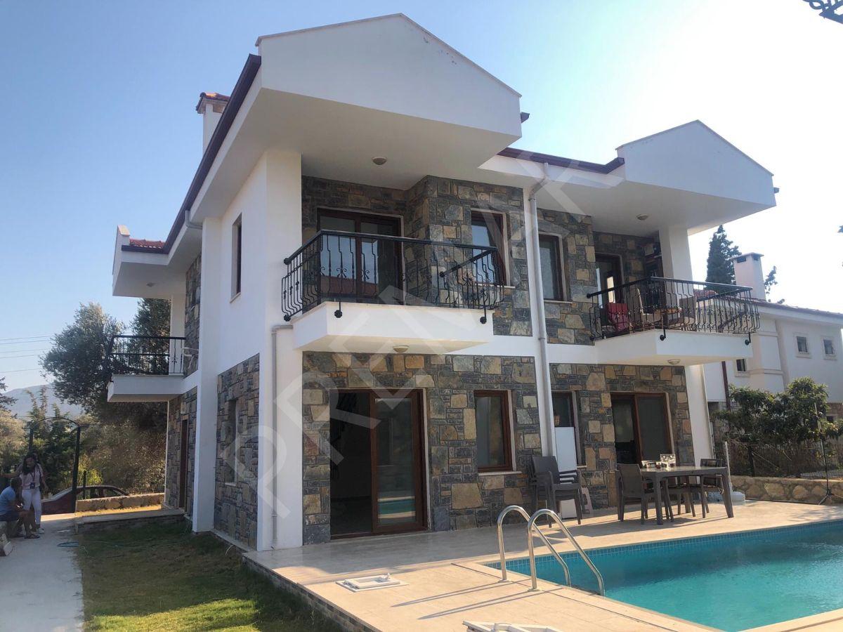 Premar Datça Reşadiye Mahallesinde Havuzlu Bahçeli İkiz Villa