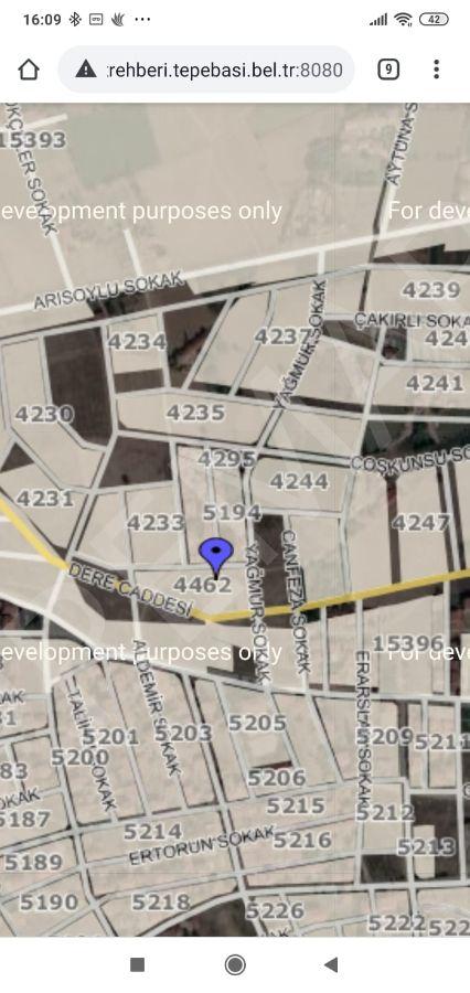Eskişehir Tepebaşı Fevzi Çakmak Mahallesinde Satılık Arsa