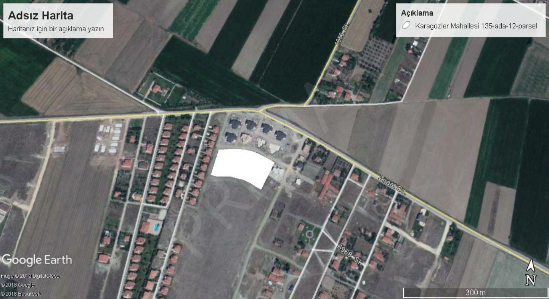 Eskişehir Tepebaşı Karagözler - Ziraat Caddesinde Satılık Arsa