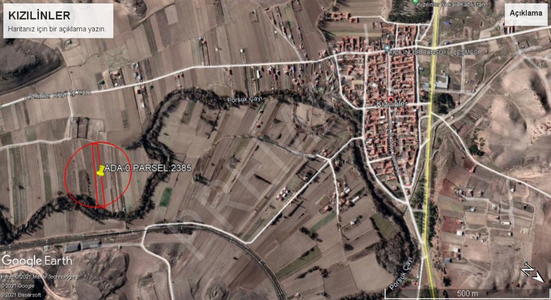 Kızılinler Mahallesinde Satılık Suya Sıfır Tarla