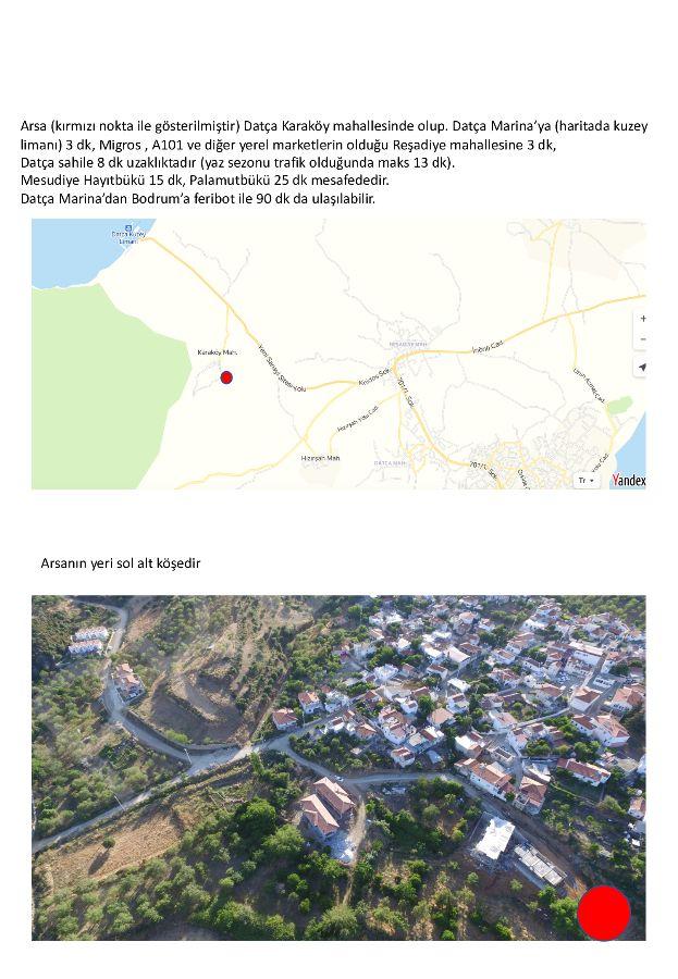 Premar Datça Karaköyde 2+1 İkiz Villalar Lansman Fiyatları İle