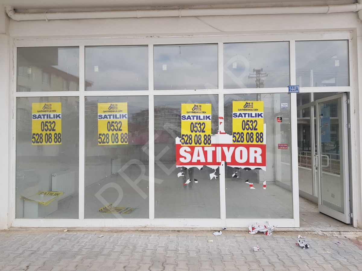 Karakayış Caddesine Sıfır Konumda, Satılık, Köşe Dükkan