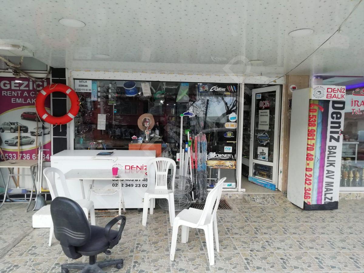 Güzeloba Cadde Üstü Satılık Dükkan