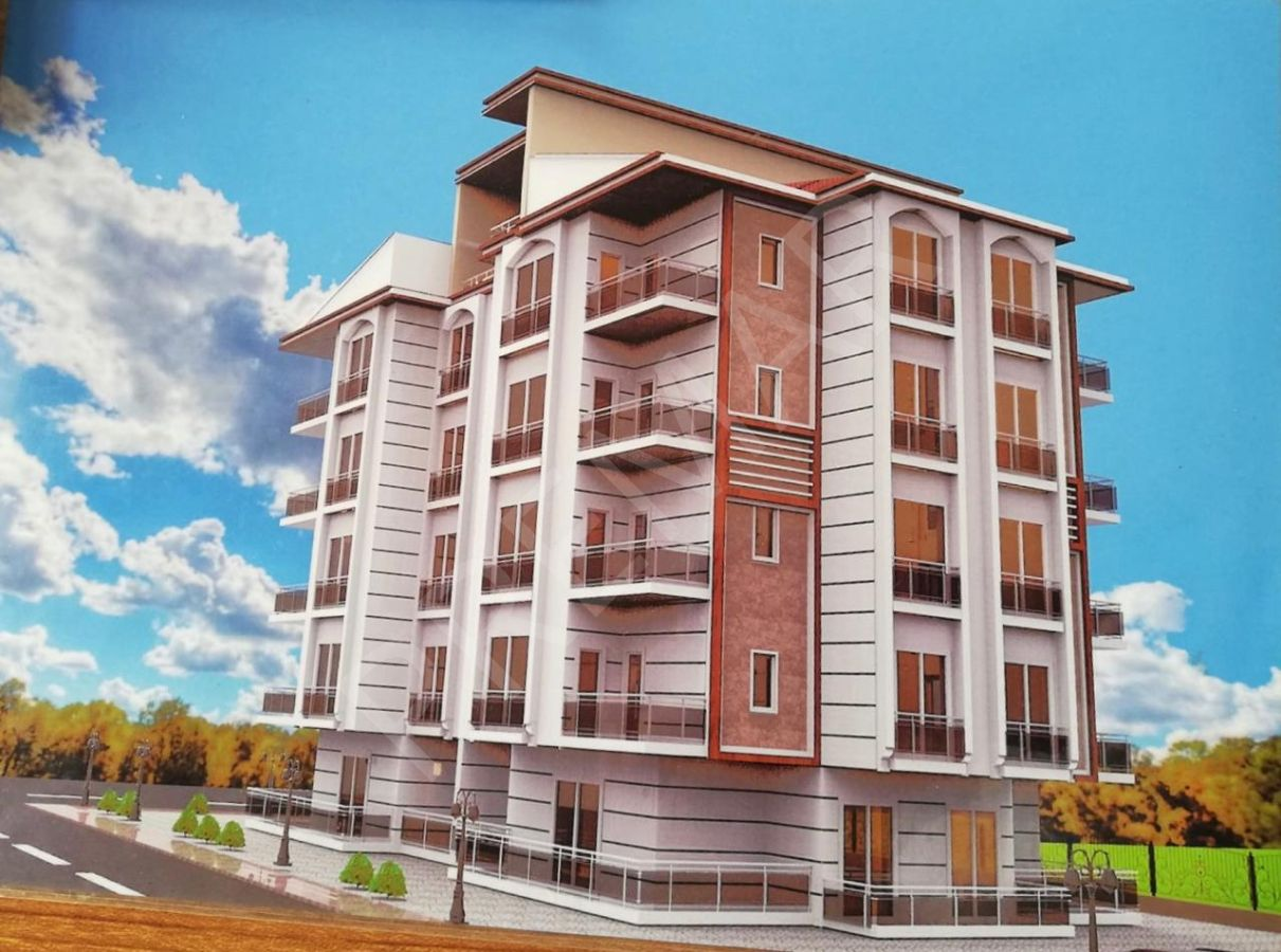 Antalya Merkez Yeni Bina -sıfır 1+1 Lüks Daire