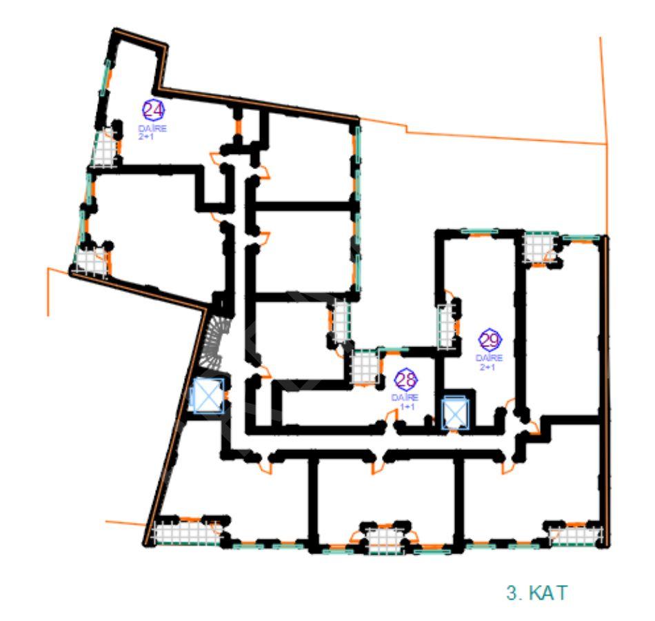 Seferihisar Şehir Merkezinde Havuzlu Site 1+1 , 2+1 , 3+1 Satılık Daireler