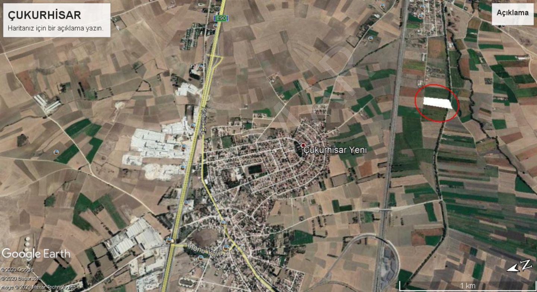 Eskişehir Tepebaşı Çukurhisar Mahallesinde Satılık Tarla