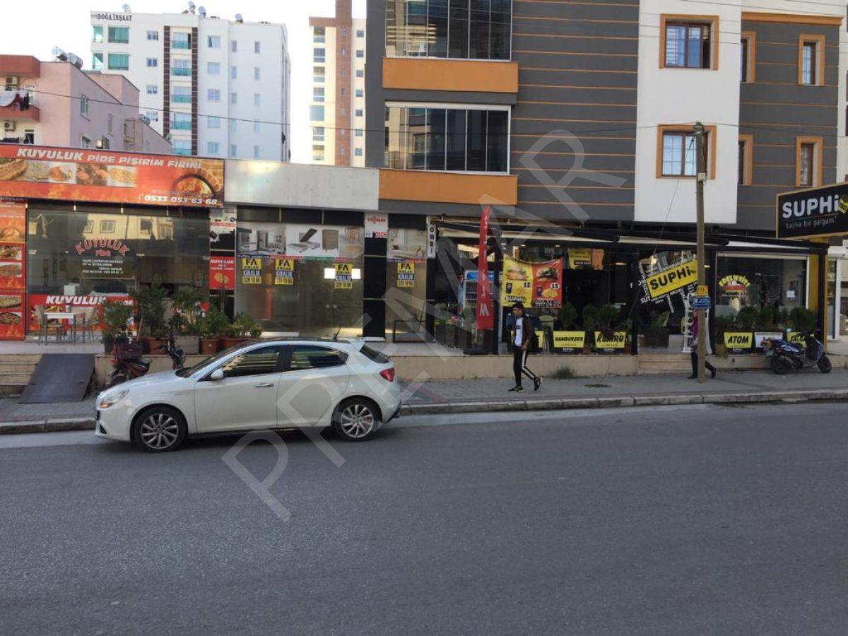 Fa Emlak'dan Mezitli'de İşlek Cad.üzeri Yatırımlık Yapılı İşyeri