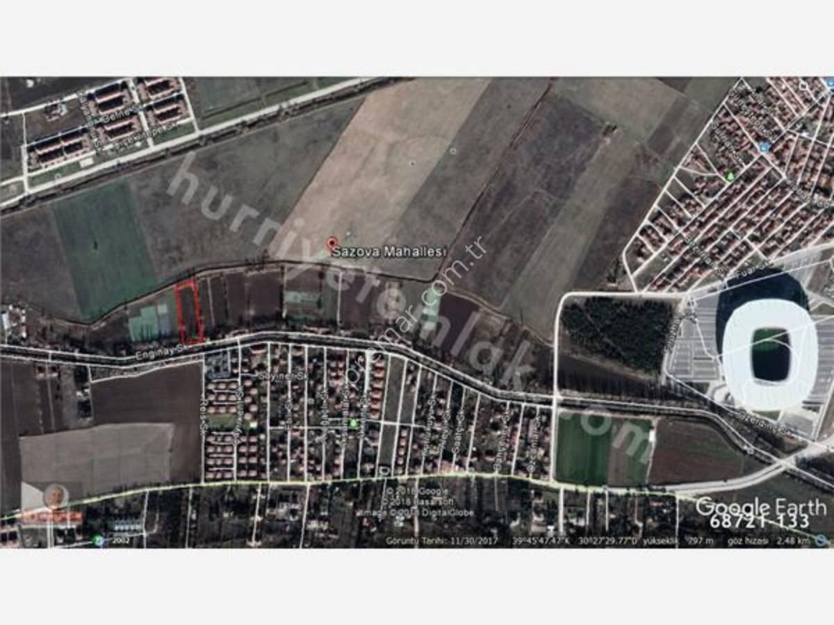 Eskişehir Tepebaşı Sazova Karabayır Bağlarında Satılık Arsa