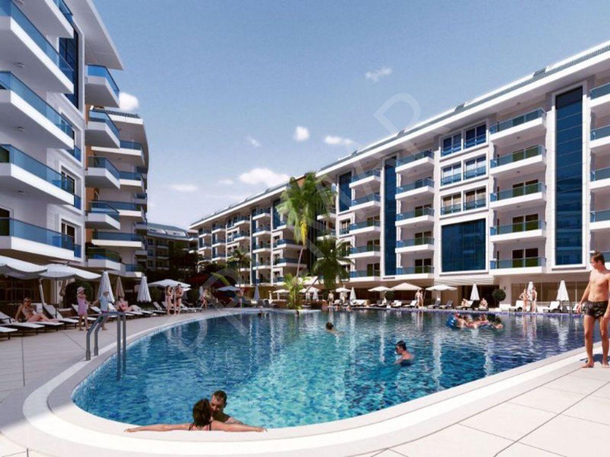 Alanya Kestelde Satılık 3+1 Residence Dublex Daire