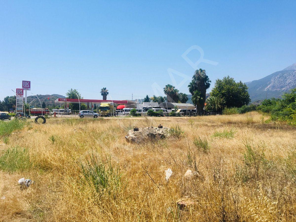 Kemer - Kumluca Cadde Üzerinde Satılık Ticari Arsa