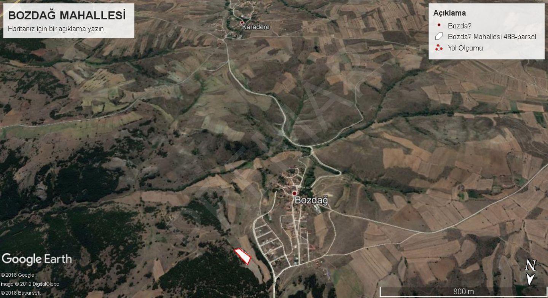 Eskişehir Tepebaşı Bozdağ Mahallesinde Satılık Tarla