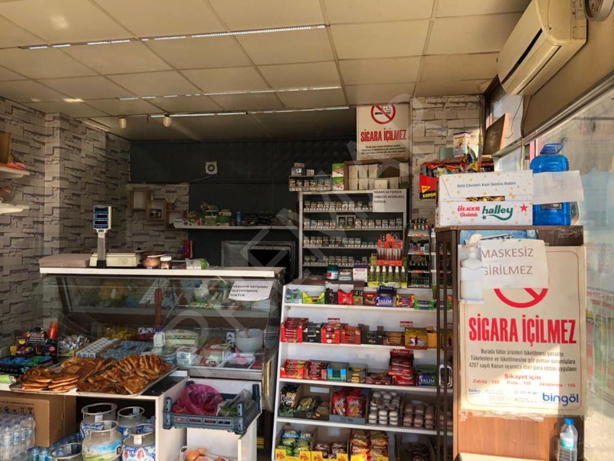 Premar'dan Eski Sanayi'de Köşebaşı Devren Satılık Market !!!