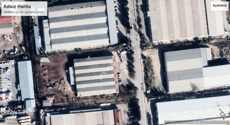 Eskişehir Odunpazarı Organize Sanayi Bölgesi 9.cad. Satılık Bina