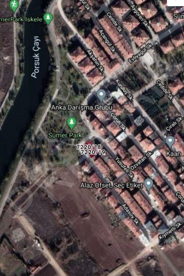 Odunpazarı Sümer Mahallesinde Satılık Arsa