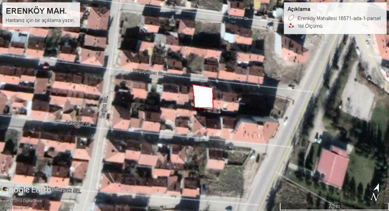Eskişehir Odumpazarı Emek Mahallesinde Satılık Arsa