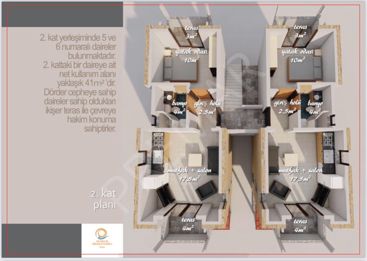 Premar Datça Merkez'de Yepyeni Bir Proje Kumluk Hisar Evleri 1