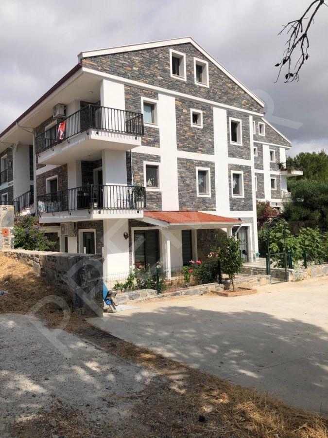 Premar Datça Merkez'de 3+1 Bahçeli Otoparklı Muhteşem Yeni Daire