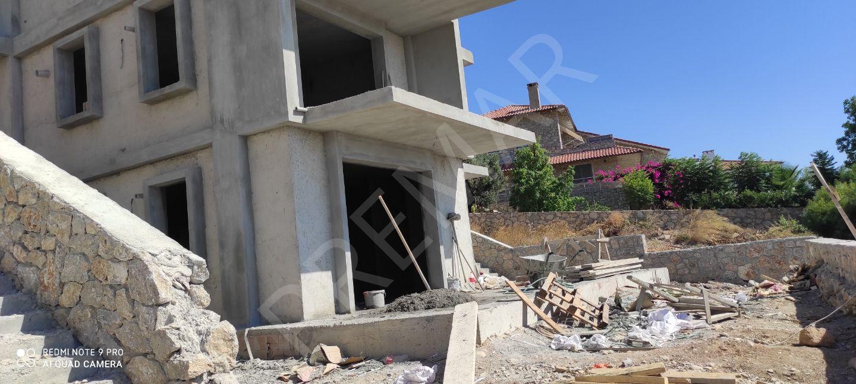 Premar Datça Burgaz'da Deniz Manzaralı 3+1 Geniş Bahçeli Daire