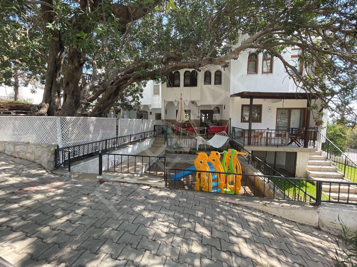 Premar Datça Özbel'de 3+1 Bahçeli Deniz Manzaralı 3+1 Dubleks