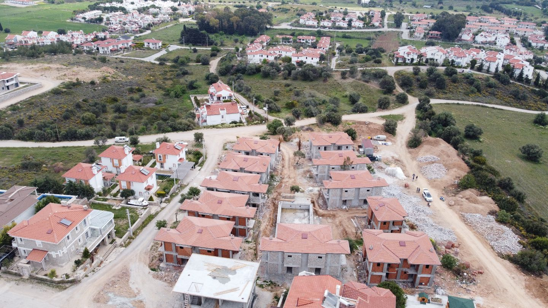 Premar Datça Burgaz'da 2+1 Dubleks Havuzbaşı İkiz Müstakiller