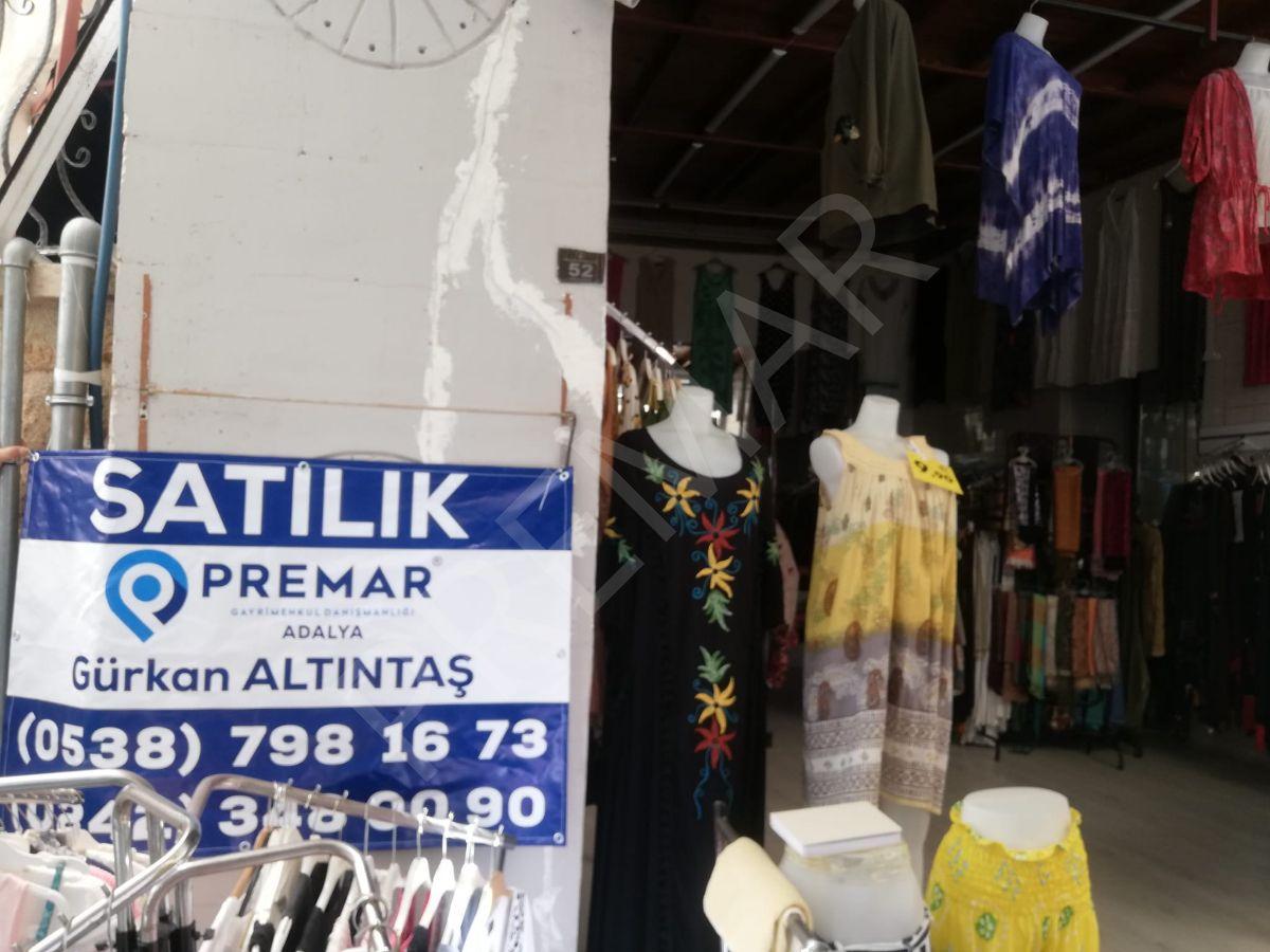 Premar Adalya'dan Kaleiçin'de Satılık İş Yeri