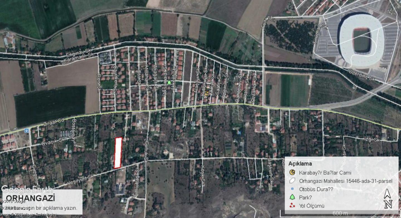 Odunpazarı Orhangazi Mahallesinde Satılık Arsa