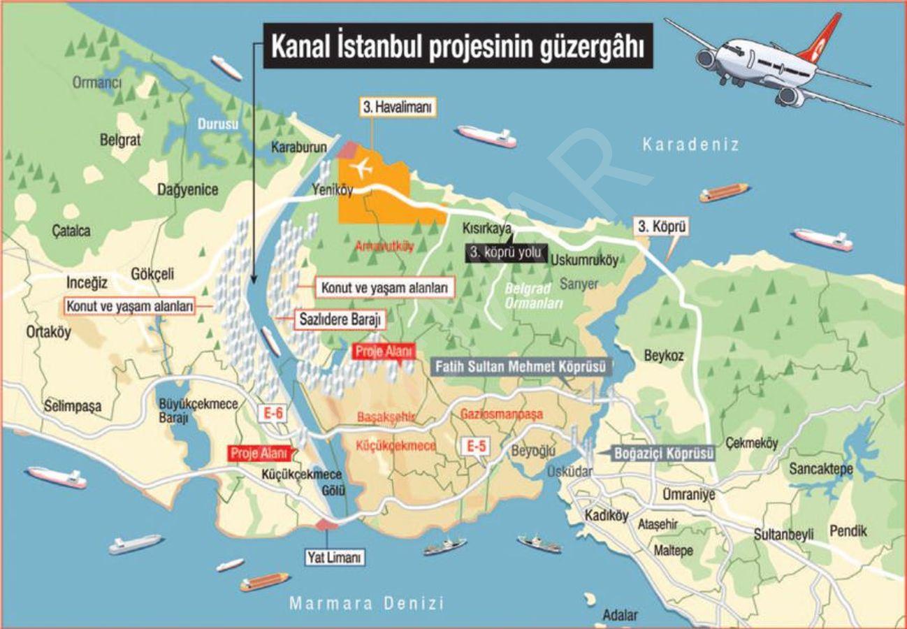 Kanal İstanbul Ve İstanbul Hava Alanı'na Komşu Olmak İstermisiniz...