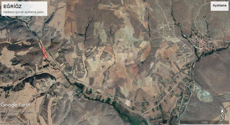Premar Eskişehir Hikmetdinçbaş Gyd Eğriöz Mahallesinde Satılık Tarla