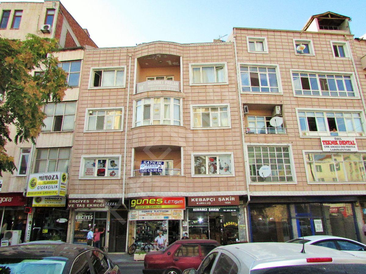 Premardan Kayseri Merkezde 2+1 100 M2 Satılık Büro-ofis