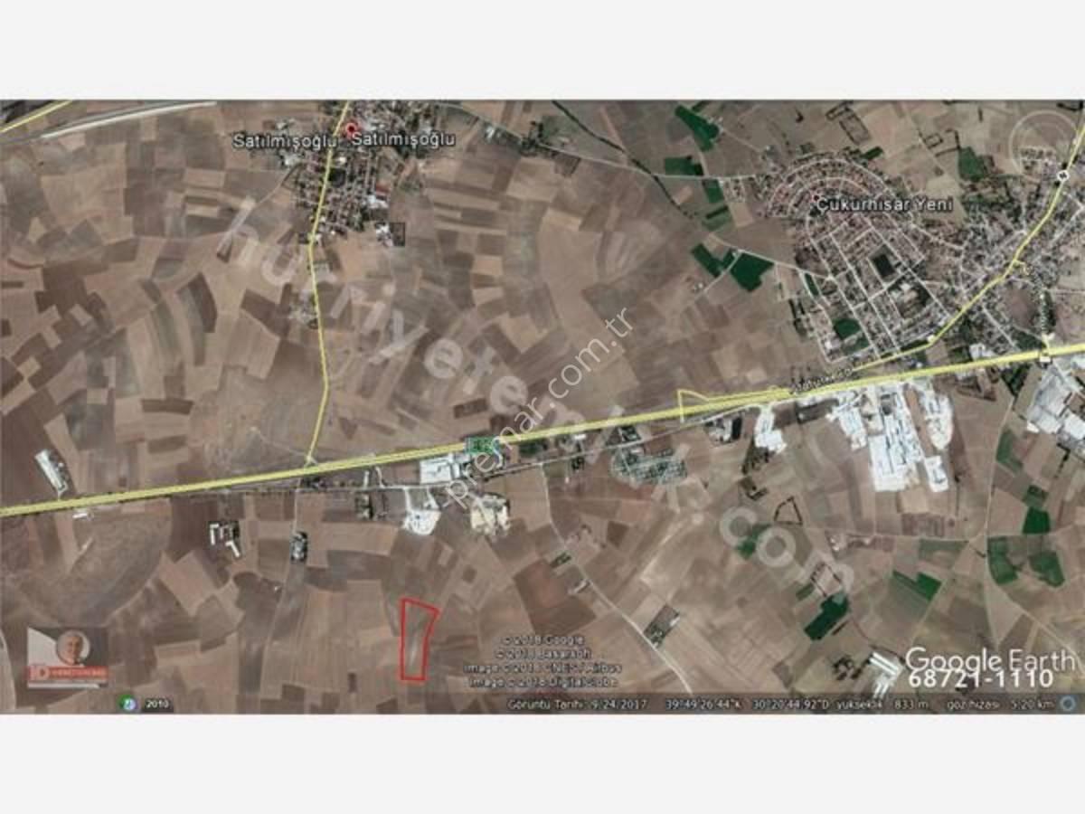 Eskişehir Tepebaşı Satılmışoğlu Mahallesinde Satılık Tarla