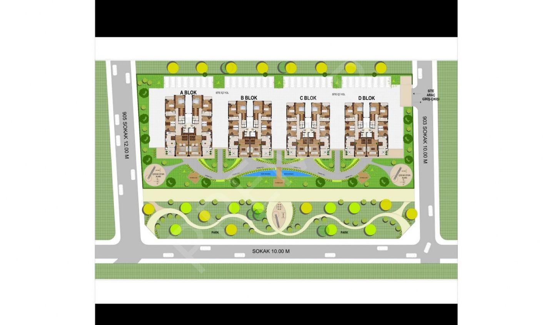 Sümer Mahallesi Kızılyer'de Satılık 4+1 Lüks Daire