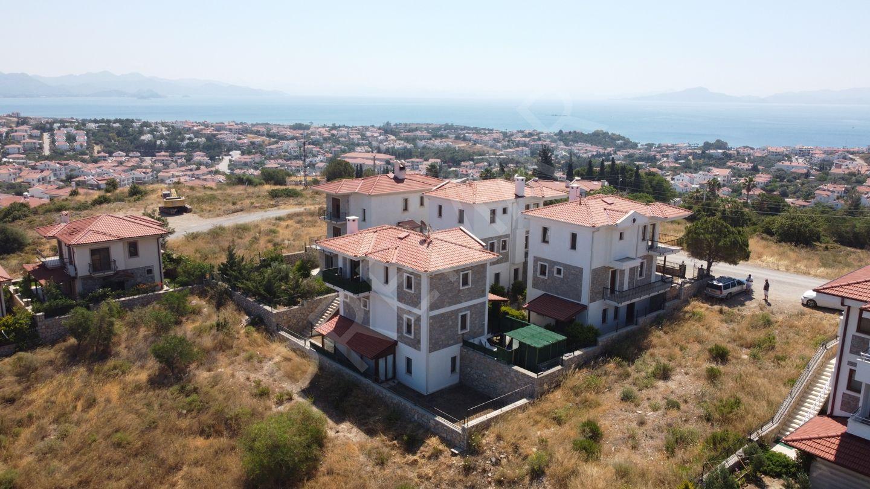 Premar Datça Merkezde 3+1 Ve 1+1 Müştemilatlı Full Deniz Manzaralı Villalar
