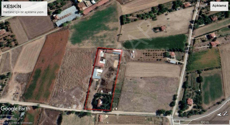 Eskişehir Tepebaşı Keskin Mahallesinde Satılık Ev Besi Binaları Ve Tarla