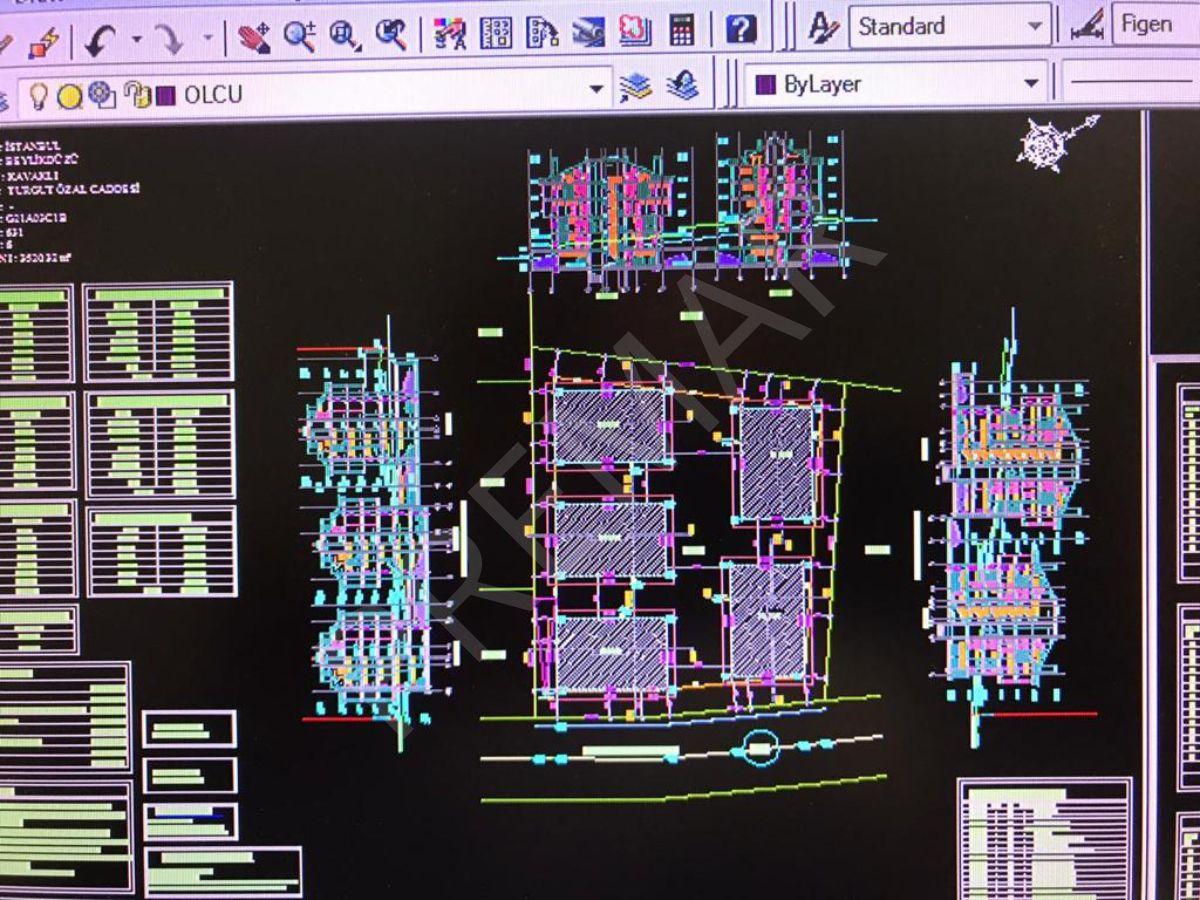 Beylikdüzü Kavaklıda Projesi Hazır 3500m2 Arsa