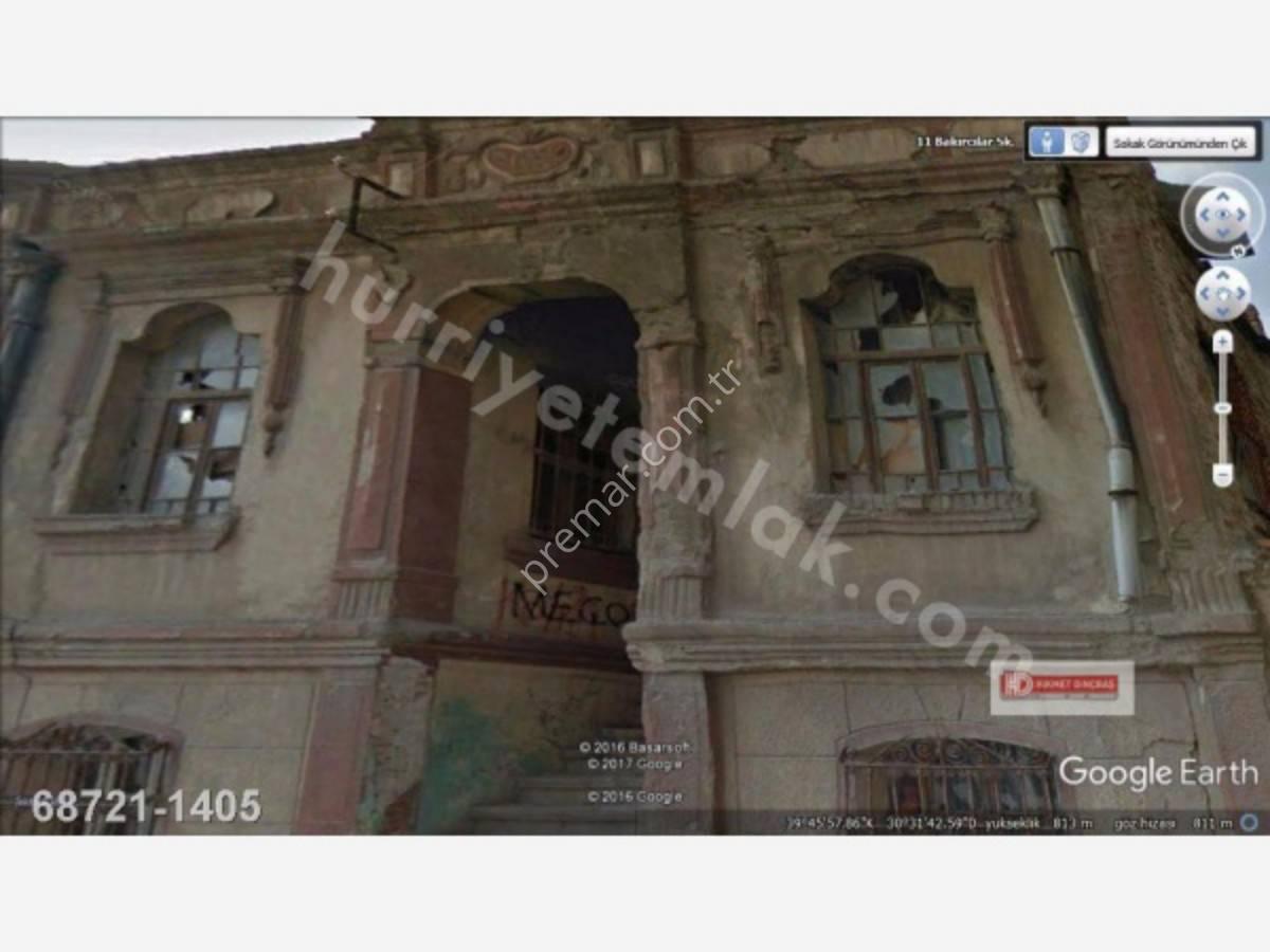 Eskişehir Odunpazarı Akçağlan Mahallesinde Satılık Tarihi Bina