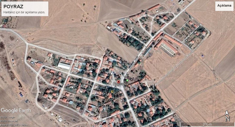 Polatlı Poyraz Mahallesinde Satılık Tarla
