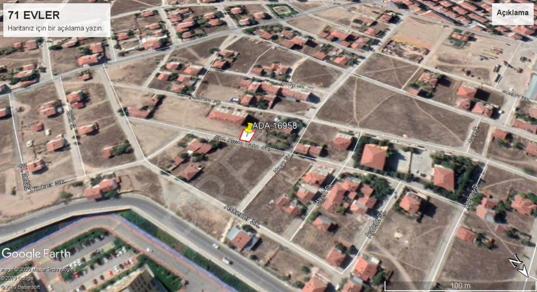 Eskişehir Odunpazar 71 Evler Mahallesinde Satılık Arsa