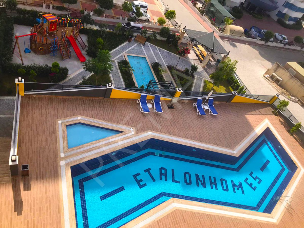 Etalonhome 2+1 Satılık Residence Premar Farkıyla
